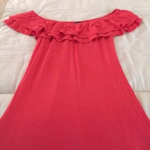 Venus maxi dress - coral color - size s/m